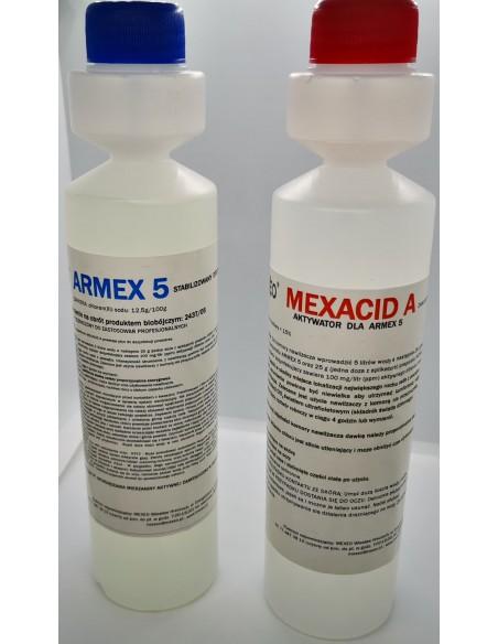 Preparat do dezynfekcji powietrza Armex 5 + Mexacid A